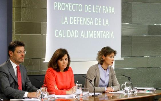 El Gobierno aprueba el Proyecto de Ley para la Defensa de la Calidad Alimentaria
