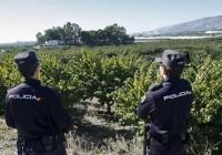 Descienden los robos en el campo andaluz un 15,8% durante primer trimestre
