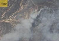 Estabilizado el incendio de Quesada tras arrasar más de 2.000 hectáreas