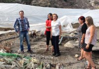 La Junta de Andalucía ayudará a paliar los daños causados por las lluvias en Granada y Almería