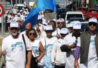 La Marcha Blanca entra en la Comunidad de Madrid y ya va camino al Ministerio