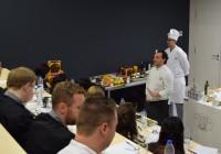 Jóvenes chefs internacionales descubren las aceitunas de mesa españolas