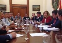 Fátima Báñez se compromete con los Regantes del Condado en la aprobación de un anteproyecto de ley para la transferencia