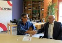 Acuerdo entre COEXPHAL y VERDIBLANCA para la inclusión laboral agrícola de personas con discapacidad