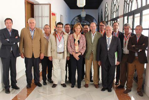 Carmen Ortiz anuncia al sector cárnico andaluz una campaña de promoción de sus productos