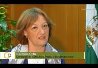 VÍDEO: Entrevista a Carmen Ortiz, consejera de Agricultura, Pesca y Desarrollo Rural