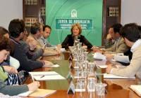 Reunión de la Consejera de Agricultura con representantes de la federación Cabrandalucía