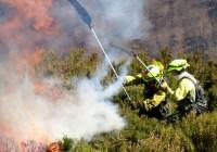 Los incendios forestales en 2018 se sitúan en el 54% de la media del decenio y la superficie quemada en el 23%