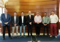 UPA Andalucía traslada las necesidades del sector al Presidente del Parlamento
