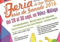 La Real Feria de Ganado de San Miguel de Vélez-Málaga se convierte en feria de referencia para la Cabra Malagueña