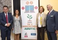 Carmen Ortiz resalta el papel de las nuevas tecnologías para lograr una producción agraria más competitiva y sostenible