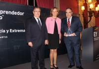 Antonio Luque, ha sido proclamado finalista por Andalucía y Extremadura del Premio Emprendedor 2016 de EY