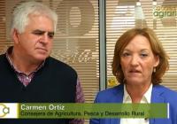 Carmen Ortiz anuncia un aumento de 25 millones en el presupuesto para las ayudas a la producción ecológica en herbáceos y leñosos