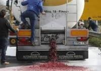 España se queja a Francia por los ataques a camiones españoles de fruta y vino