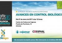 Cajamar Caja Rural y Coexphal organizan el próximo 27 de enero en Almería la jornada técnica agroalimentaria  'Avances en control biológico'
