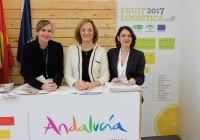 """Carmen Ortiz: """"Fruit Logistica ha sido un escaparate importante para Andalucía, ya que somos el número uno en frutas y hortalizas"""""""