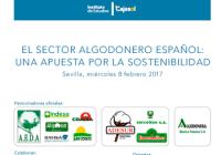 El Sector Algodonero ofrecerá un reconocimiento al Ministerio de Agricultura y a la Consejería de Agricultura por su apoyo