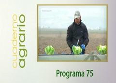 Cuaderno Agrario PGM 75