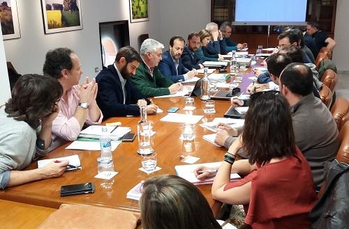 La estrategia andaluza de lucha contra la Xylella fastidiosa centra la primera reunión de la Mesa de Sanidad Vegetal