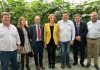 Carmen Ortiz pide la colaboración del sector para garantizar la sanidad del material vegetal en Andalucía