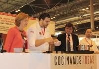 La capitalidad gastronómica de Huelva centra la demostración de cocina en vivo a cargo de Xanty Elías en Gourmets 2017
