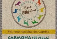 El próximo mes de mayo se celebrará en Carmona el VIII Foro Nacional del Caprino