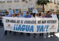 """La Plataforma muestra su """"decepción"""" tras no garantizar el Gobierno central el agua al Condado"""