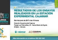 El próximo viernes se celebrará la jornada técnica 'Resultados de los ensayos realizados en la Estación Experimental Cajamar'