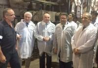 Sánchez ensalza la industria orujera como pieza imprescindible para el aprovechamiento de subproductos derivados del olivar
