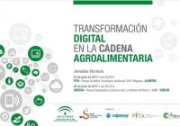 """Jornadas de """"Transformación digital en la cadena agroalimentaria"""" en Almería y Huelva"""