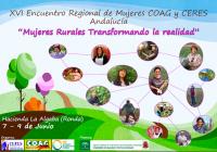 Mujeres de COAG y CERES Andalucía debaten sobre la participación femenina en el medio rural en Ronda
