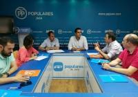 UPA Jaén defiende ante el PP una PAC post 2020 fuerte que beneficie a las explotaciones familiares y profesionales