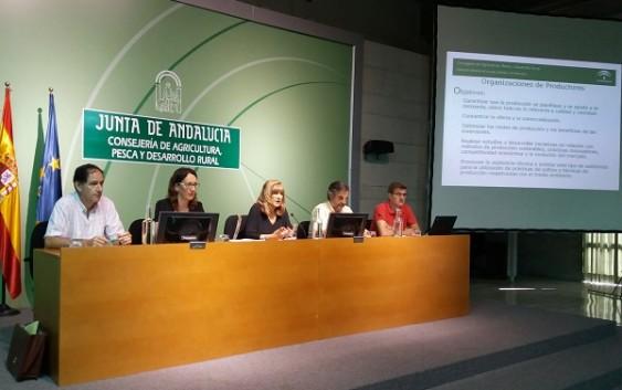 La Junta analiza junto al sector las novedades normativas que afectan a los Programas Operativos de las OPFH