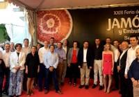 Rodrigo Sánchez destaca la contribución de la Feria del Jamón y Embutidos de Serón al desarrollo del interior de la provincia
