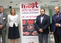 El secretario general de Agricultura, Rafael Peral, resalta Meat Attraction como una oportunidad de negocio para el sector cárnico