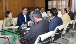 Rodrigo Sánchez respalda la apuesta por la calidad de las Denominaciones de Origen 'Jabugo' y 'Los Pedroches'