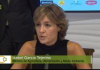 Isabel García Tejerina subraya la necesidad de sentar las bases de una política de agua sólida e integradora