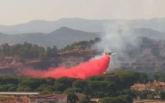 49 movilizaciones de medios aéreos del MAPAMA y 6 actuaciones de Brigadas de especialistas para combatir 17 incendios forestales