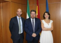 VÍDEO: Sánchez Haro apuesta por reforzar la promoción para así  impulsar aún más las exportaciones agroalimentarias andaluzas