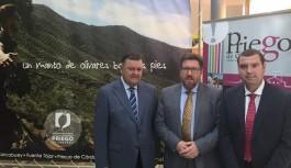 Sánchez Haro destaca la apuesta de Agropriego 2017 por las empresas de servicio y la industria auxiliar asociada al olivar