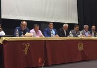 """Rodrigo Sánchez insiste en la necesidad de un """"tratamiento específico"""" para Almería en la gestión de los recursos hídricos"""