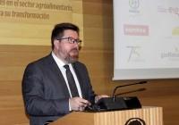 Sánchez Haro pone como ejemplo al sector agrario andaluz por su potencial exportador y su gran fortaleza industrial