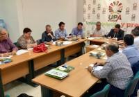 UPA Andalucía traslada al Consejero de Agricultura los problemas del sector agrario