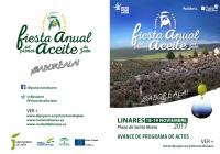 Los días 18 y 19 de noviembre se celebrará la IV edición de la Fiesta Anual del Primer Aceite de Jaén