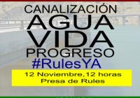 'Granada en marcha' y 'Agua para el campo' convocan una concentración en la presa de Rules para exigir las canalizaciones