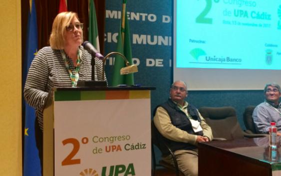 Azucena González, nueva secretaria general de UPA Cádiz elegida por unanimidad