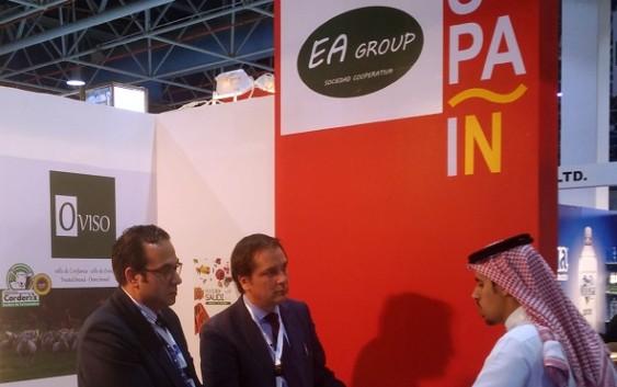 Empresas agroalimentarias andaluzas se abren paso en Arabia Saudí a través de su participación en Foodex  2017