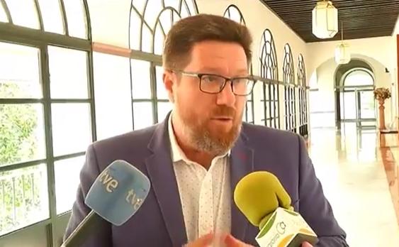 """Sánchez Haro muestra su """"indignación"""" ante un acuerdo entre la UE y EEUU para eliminar aranceles que obvia a la aceituna negra"""