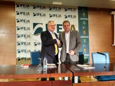 Ferias Jaén firma un convenio con la World Olive Oil Exhibition con el objetivo de ampliar la proyección internacional de Expoliva