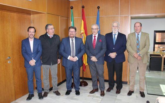 Sánchez Haro resalta la importancia de la interlocución con el Consejo Andaluz de Veterinarios para la sanidad animal